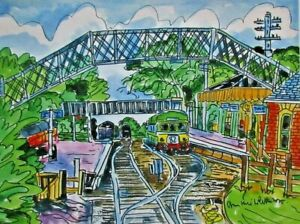 Digital Print of Sheringham Town NNR Railway View by Ann Marie Whitton