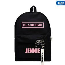 KPOP BLACKPINK Girls School Students Backpack Shoulder Bag LISA JISOO Travel Bag