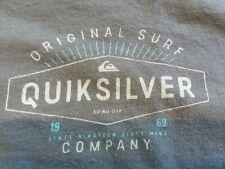 #3 QUICKSILVER Original Surf  1969  Gray T-Shirt Size large surfer skateboard