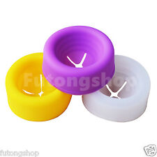 3 Pcs Silicone Soft Replacement Donut Sleeve for Penis Pump Vacuum Cylinder UK