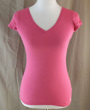 Aeropostale, Small, Wild Strawberry Pink V-neck Top