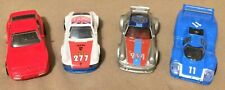 Hot Wheels Porsche Lot Red, Blue, Silver, White Opened And Used