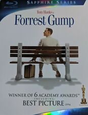 New • Sealed • Forrest Gump • Blu-ray Disc, 2009, 2-Disc Set • Sapphire Edition