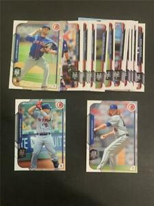 2015 Bowman New York Mets Team Set 18 Cards With Prospects & Draft