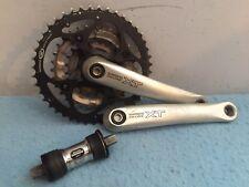 Shimano XT FC-M750 Crankset 3 x 9 Speed 175mm Cranks 44/32/22 Mountain Bike xtr
