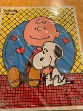 1958 CHARLIE BROWN/SNOOPY BE A FRIEND PEANUTS PLAYSKOOL PUZZLE 230-10 7 PIECE k1