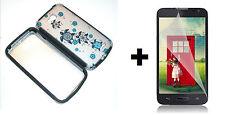 LG Optimus Exceed 2 VS450PP Hybrid Phone Case+Screen Protector - Turtle