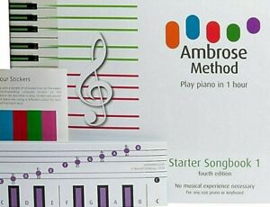 How to Play Keyboard Piano Beginners Music Book Teach Yourself in 1hr All Ages