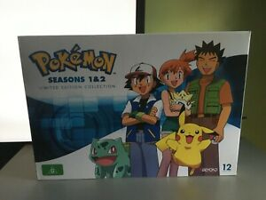 POKEMON SEASONS 1 AND 2 LIMITED EDITION COLLECTION