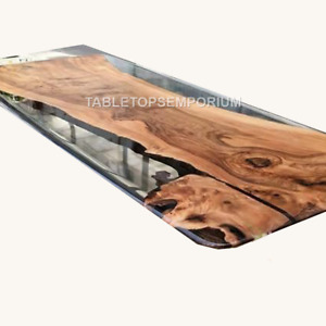 Epoxy Table, dining, sofa, center table top Acacia Wooden Tables, Custom Order