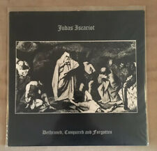 Judas Iscariot Dethroned Conquered And Forgotten LP Nargaroth Rare New 1st Press