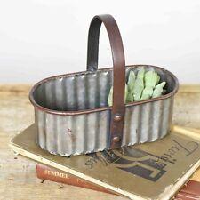 Small Oval Tin Caddy
