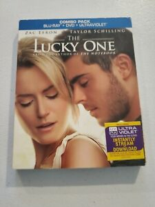 The Lucky One (Blu-ray/DVD, 2012, 2-Disc Set) W/Slipcover New Sealed