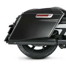 "4"" Gloss Black CVO Stretched Saddlebag For Harley Road King Street Glide 14-20"