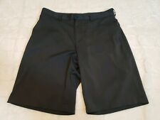Slazenger Men's Size 34 Golf Collection Flat Front Gray Shorts Polyester spandex