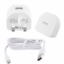 Genuine HTC TC B270 Mains Pared Cargador Adaptador para un M9, One A9, Desire 625,620