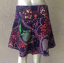 LILLY PULITZER Floral Galaxy Print Mini Skirt