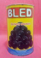 Oliven Schwarz mit Stein Marokko Feinkost - 4400 g - Antipasti vegetarisch