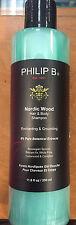 Philip B Nordic Wood Hair & Body Shampoo 11.8oz - NEW PACKAGING