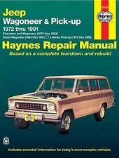 Haynes Jeep Grand Wagoneer Cherokee Pick-up 1972-91 Repair Manual WORKSHOP V8 6