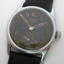 Rare Military Watch German Army SILVANA DH of period WWII