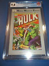 Incredible Hulk #181 1st Wolverine Marvel Milestone Edition Reprint CGC 9.8 NM/M