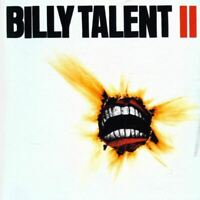 BILLY TALENT billy talent ii (CD, album, 2006) alternative rock, punk, very good