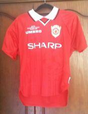 Manchester United Retro Remake Champions League winners 1999 Solskjaer L