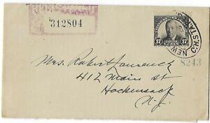 1925 FDC 17c Woodrow Wilson SC#623 Registered mail No Cachet CV$15