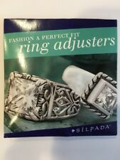 Silpada Clear Rubber Perfect Fit Ring Adjusters - 7 Ring Adjusters - R2953