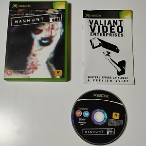 Manhunt (Xbox) - with Manual horror game Xbox original free postage platform