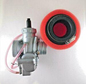 VM24 28mm Carburetor w/Air Filter fit Mikuni Yamaha DT175     [D4]