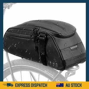 Premium Bike Reflective Rack Bag Water Resistant Bicycle Rear SeatPannier Cargo