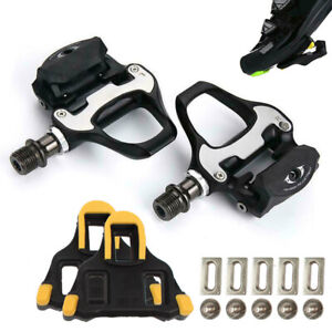 Pair For SM Bicycle Ultegra PD-R8000 Carbon Fiber Road Bike Pedal with SM-SH11