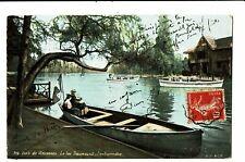 CPA - Carte postale -France-Paris -Bois de Vincennes- Lac Daumesnil embarcadère