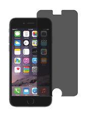 Blickschutzfolie iPhone 6 / 6S Privacy Displayschutz Folie Antispy schwarz matt