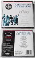 GENE VINCENT & THE BLUE CATS The Story .. 2000 EMIplus CD-Box OVP/NEU CD+CD ROM