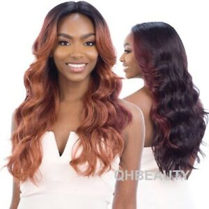 FREETRESS EQUAL SYNTHETIC HAIR 5 INCH LACE PART HAIR WIG - VIVIA