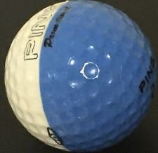 Ping Eye Promotional Promo Karsten Blue White Golf Ball No logo Dual Color Used