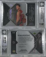 2006-07 Upper Deck UD Black Rookies #AR-AB Andrea Bargnani BGS 9 MINT Auto Card