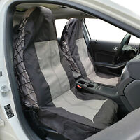 Canvas Seat Covers Front Set For MITSUBISHI TRITON ML MN DUAL CAB 2006-2019