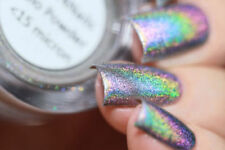 Holographic tape nail art supplies ebay holographic nail art pigments prinsesfo Images