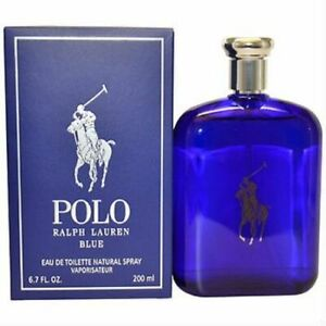 Polo Blue by Ralph Lauren 6.7 oz EDT Cologne for Men New In Box