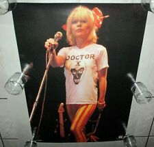 "Blondie 1979 Holland Poster Original Near Mint 24"" x 33"" Doctor X Debbie Harry"