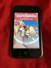 Apple iPod touch 2nd Generation Black(8GB) Cracked,Frame Damage, No Power*8207