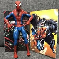 """12"""" Marvel Legends Spider-man EVOLUTION OF AN ICON Hasbro Action Figure w/ book"""
