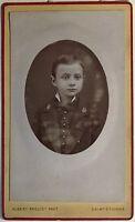 Fotografia Albert Prouzet Saint-Etienne Carte De Visite Vintage PL34L4P34