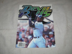 2000 Tampa Bay Devil Rays Official Yearbook Fred McGriff Cover