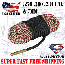 Boresnake  Rifle .270 Cal .280 .284 & 7mm Gun Cleaner Bore Snake Cleaning Kit