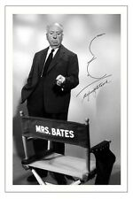 ALFRED HITCHCOCK PSYCHO AUTOGRAPH SIGNED PHOTO PRINT POSTER